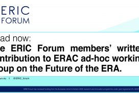 ERIC Forum members' written contribution to ERAC ad-hoc working group on the Future of the ERA