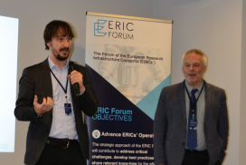 Press Release: The ERIC Forum announces new Chair and Vice Chair