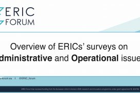 Overview of ERICs' surveys on Administrative and operational issues