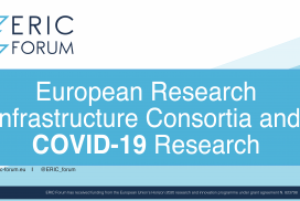European Research Infrastructure Consortia and COVID-19 Research