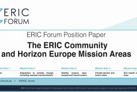 The ERIC community and Horizon Europe Mission Areas