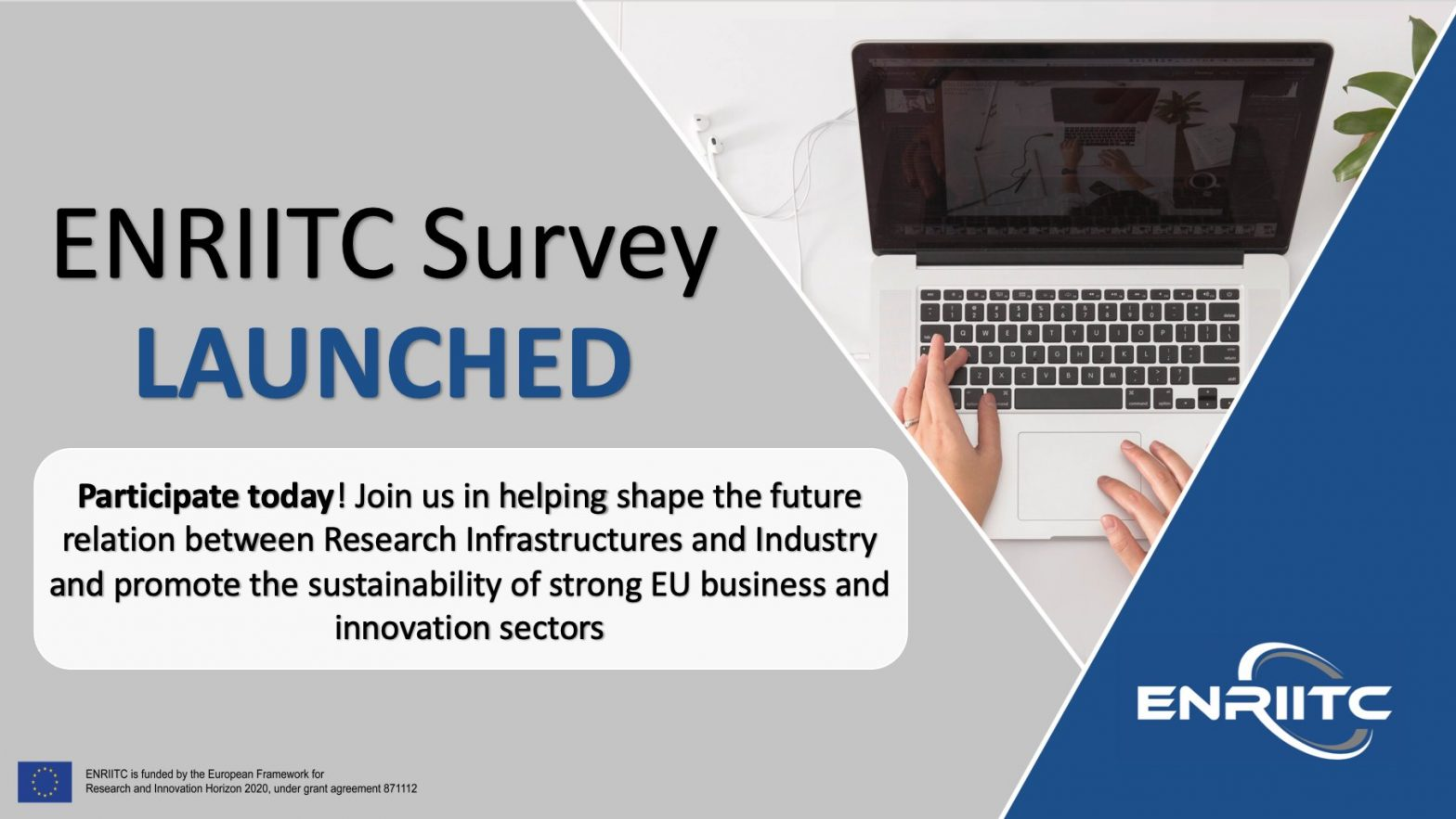 Do you want to improve the way RIs and industry interact? Participate in the ENRIITC surveys