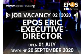 EPOS-ERIC is hiring its Executive Director