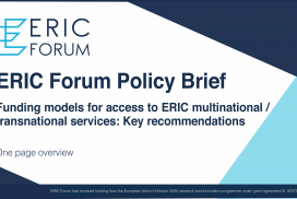 ERIC Forum Policy Brief – One page overview