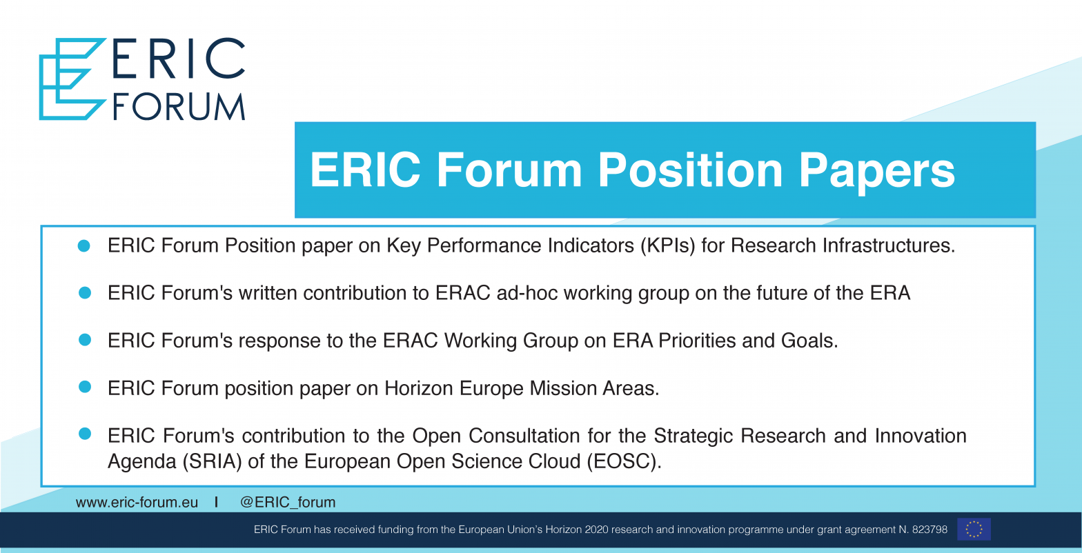 ERIC Forum Position Papers