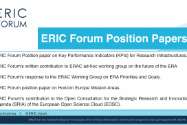ERIC Forum Position Papers – Overview