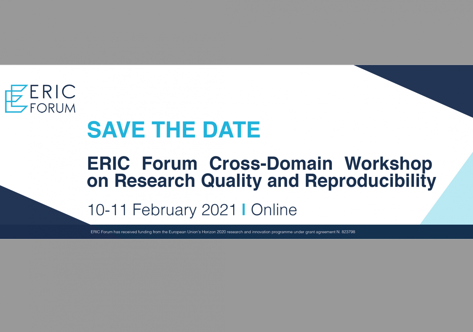 ERIC Forum Cross-Domain Workshop on Research Quality and Reproducibility